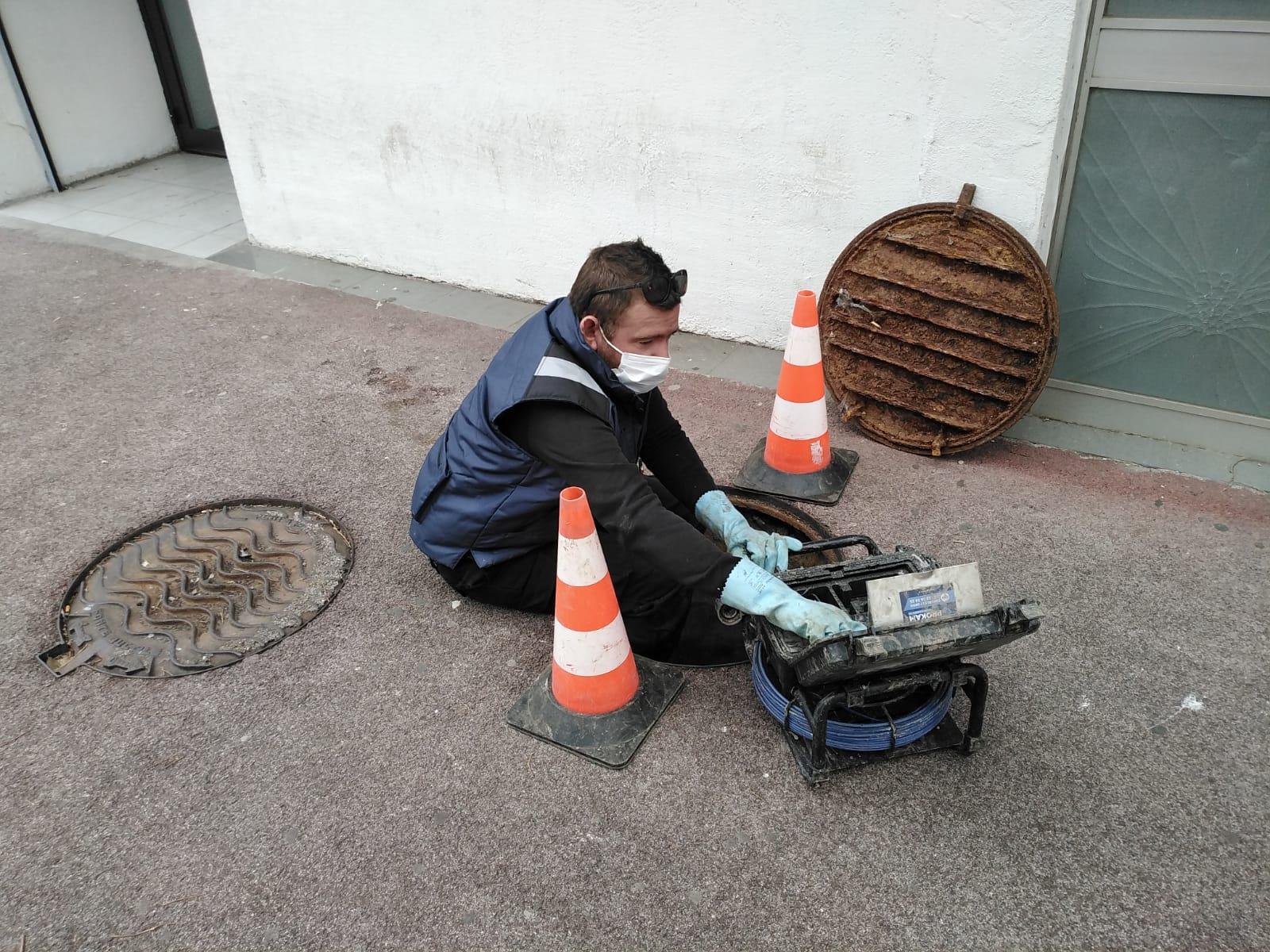 réparation canalisation avec inspection caméra